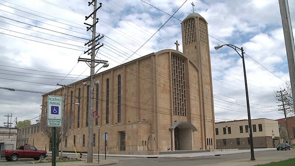 St. Columba Cathedral in Youngstown