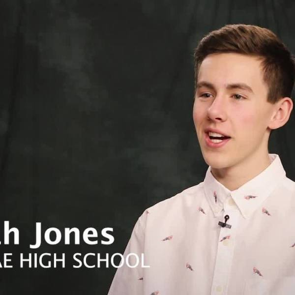 WKBN Scholarship - Noah Jones interview