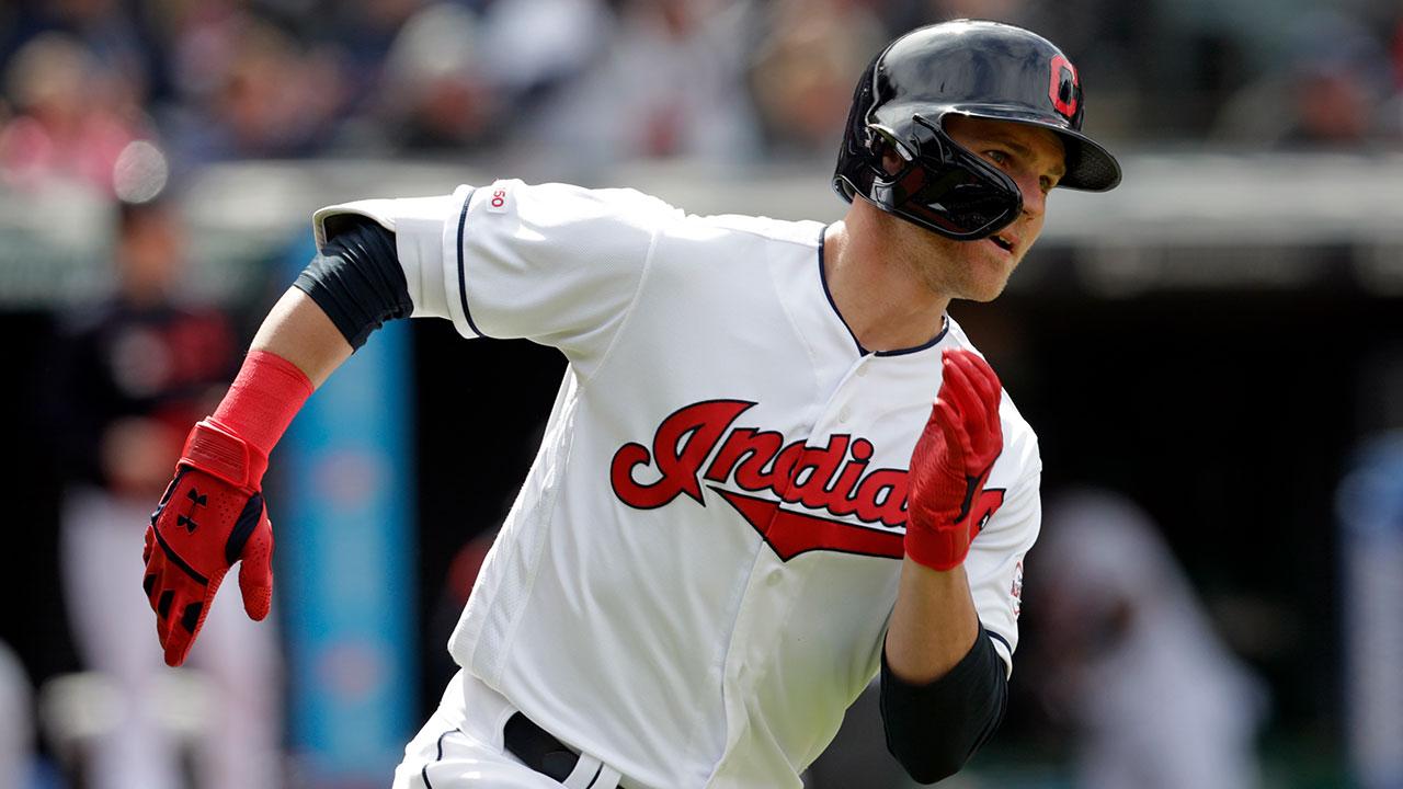 Cleveland Indians' Jake Bauers