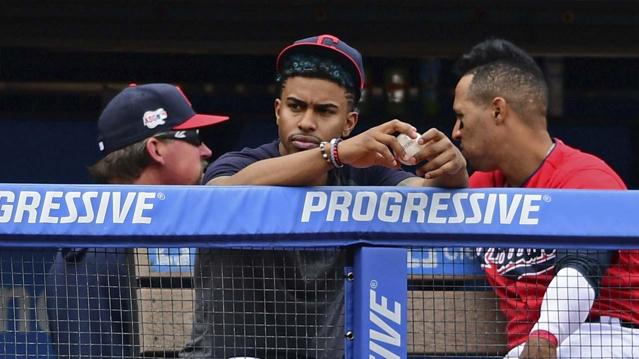 Cleveland Indians Francisco Lindor 4-19