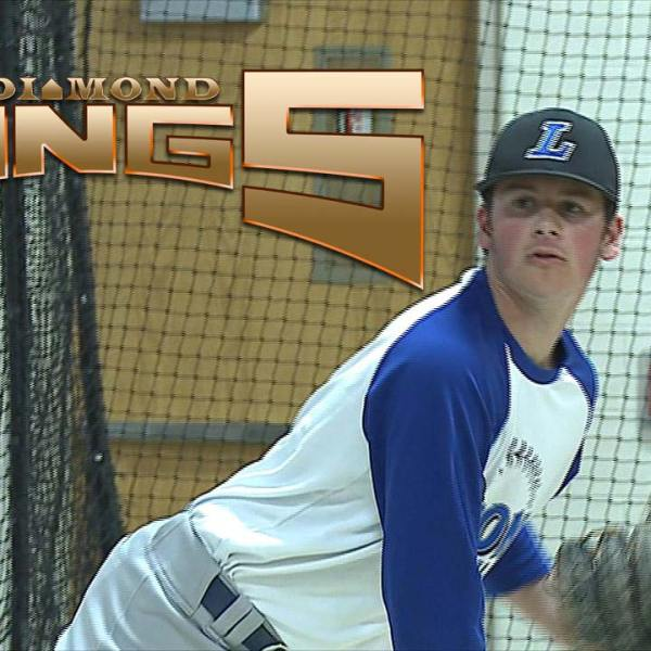 Lisbon Blue Devils Logan Bell Diamond Kings
