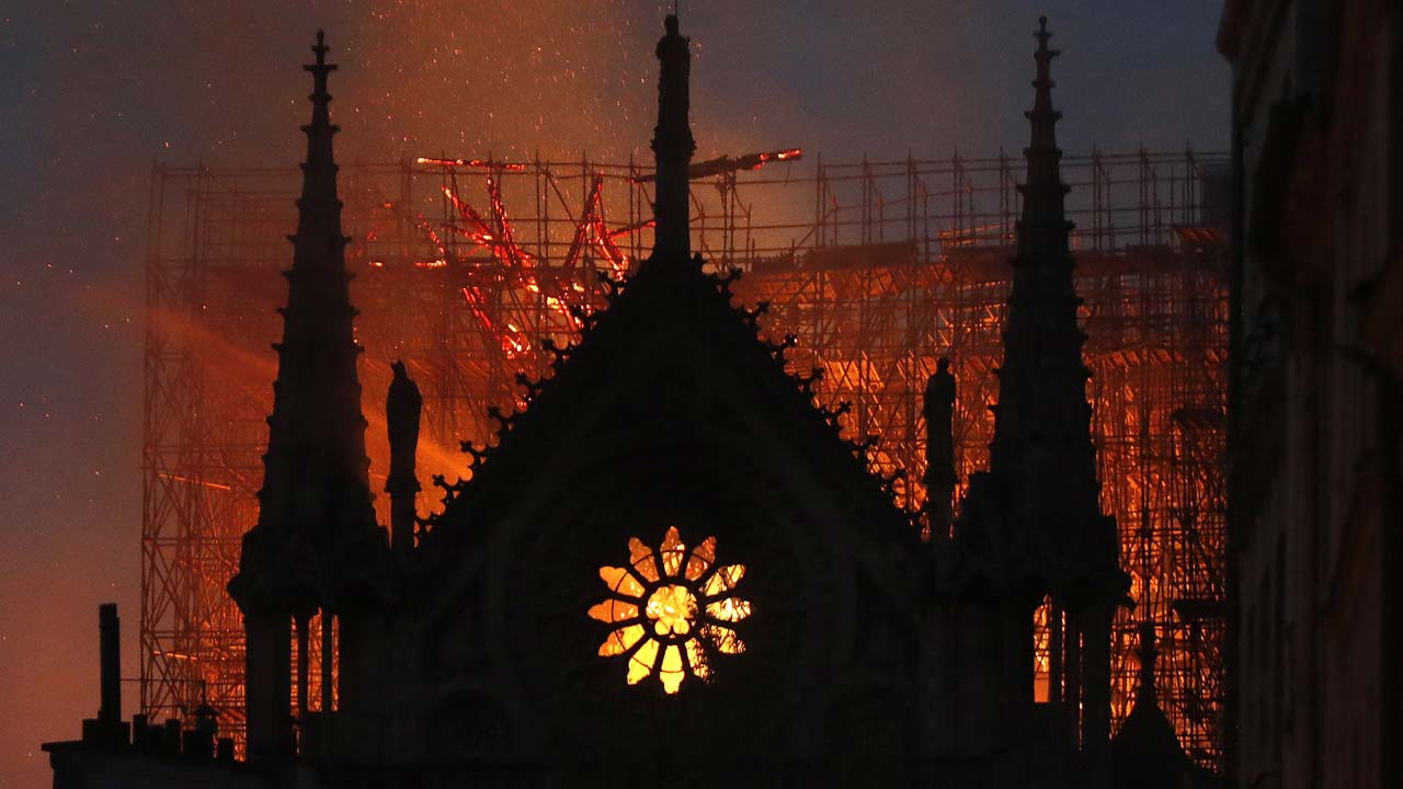 Notre Dame Cathedral Fire 8