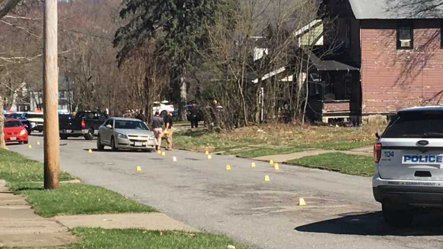 Youngstown shooting on Tod Lane