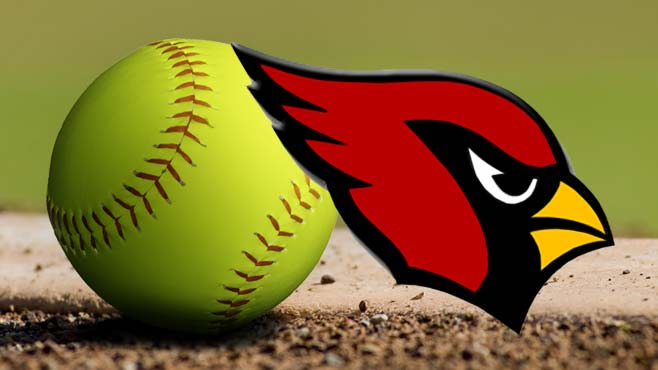 Canfield Cardinals softball