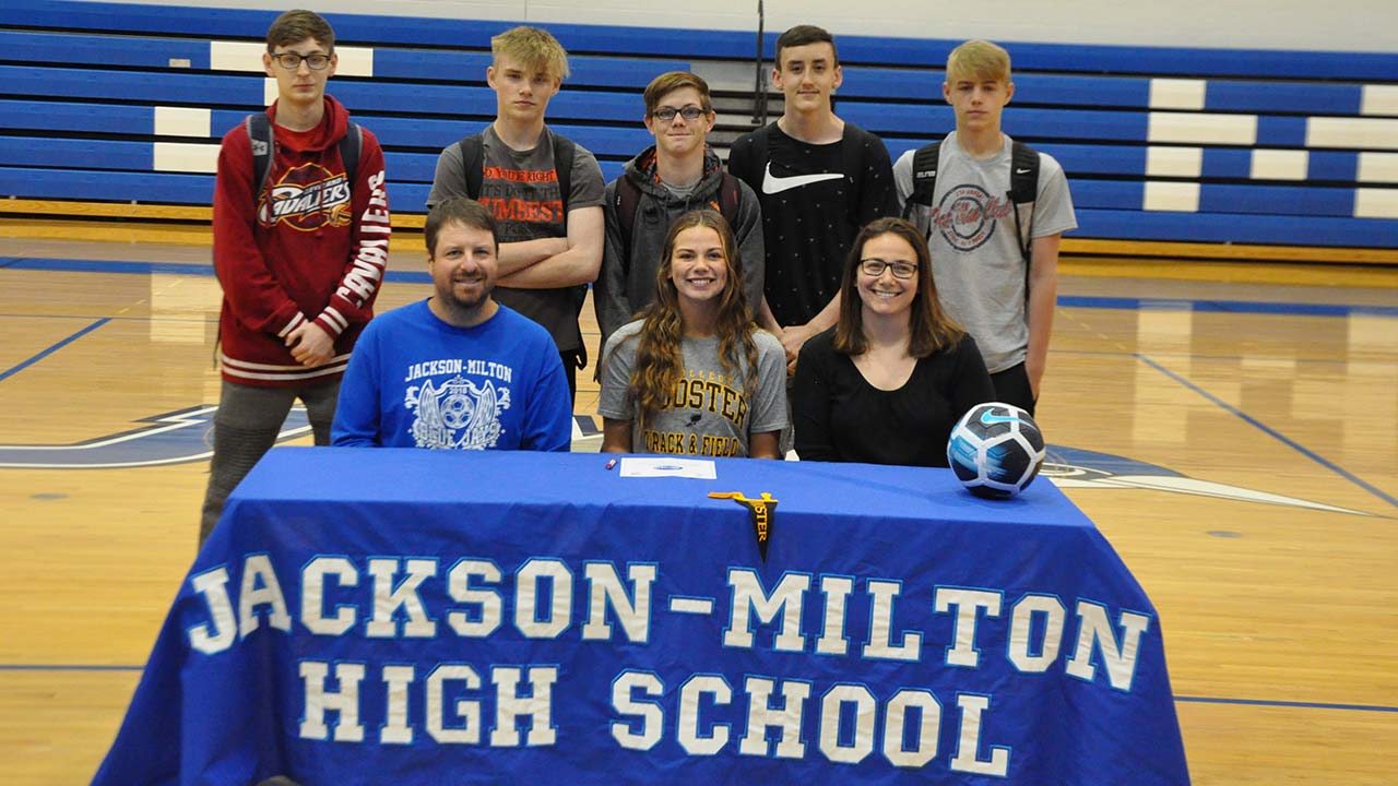 Jackson-Milton's Chloe Clear Commits to Wooster College for Soccer and Track