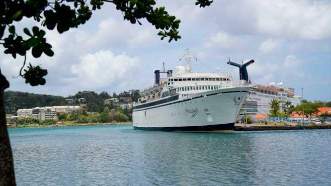 Measles cruise ship