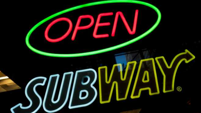 Subway sign generic