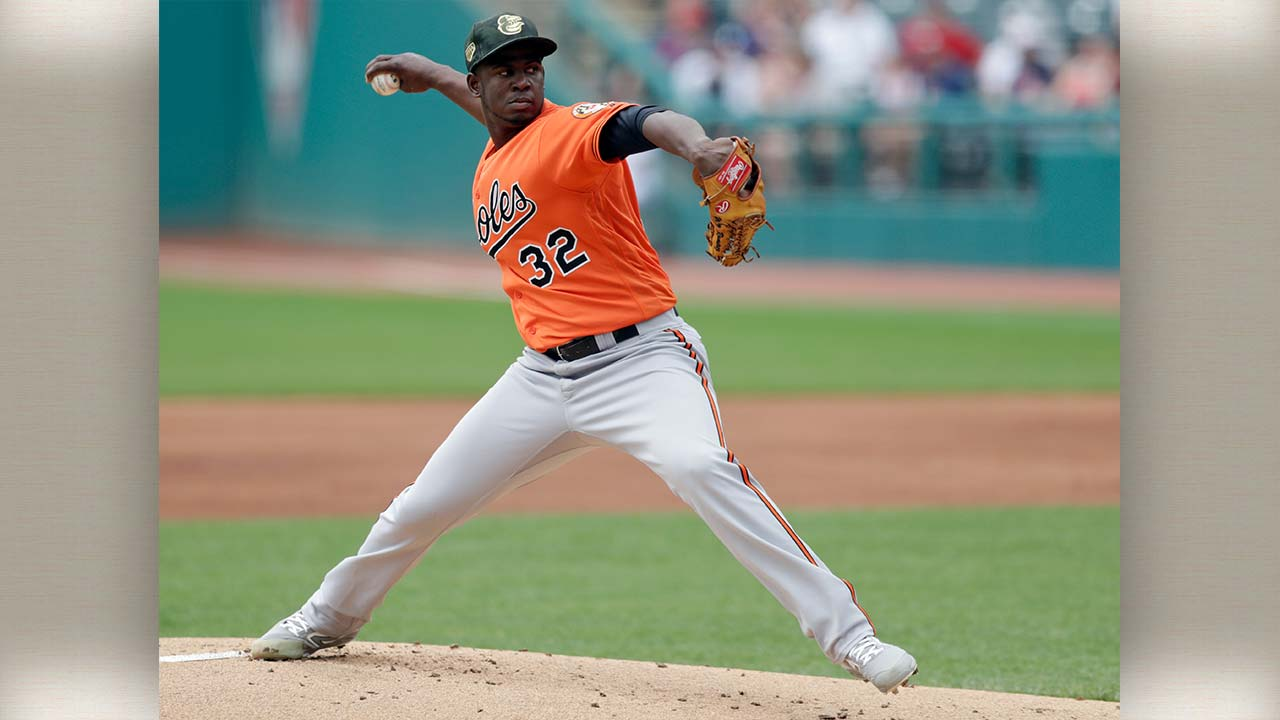Pitcher Yefry Ramirez Traded To Pirates From Orioles