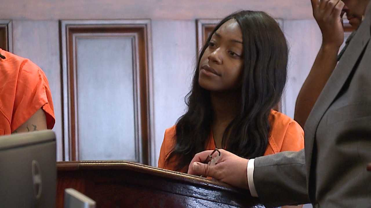 Alexis Holmes, charged in Sharon murder
