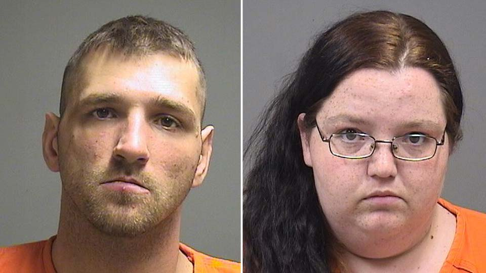Charles Purbaugh and Tiffany Heiderich charged with child endangering in Struthers