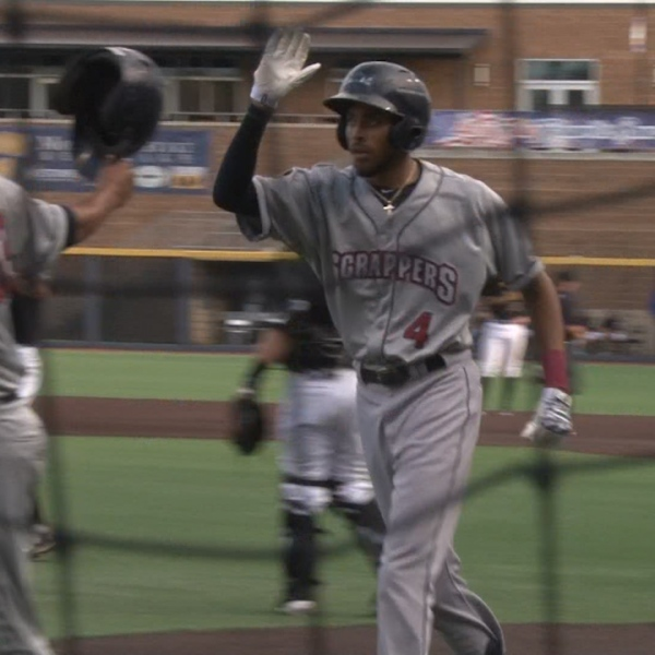 Michael Cooper went 2-4 with 3 RBI's including a home run in Wednesday's win