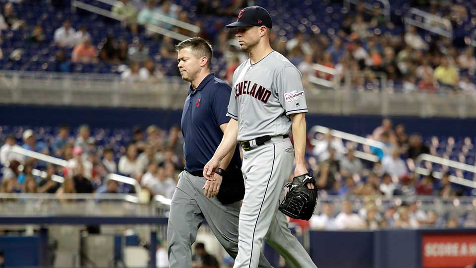 Cleveland Indians Starting Pitcher, Corey Kluber