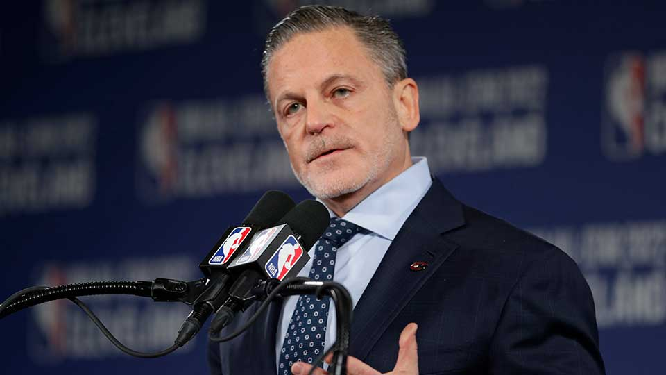 Dan Gilbert, owner of the Cleveland Cavaliers in Cleveland, Ohio.