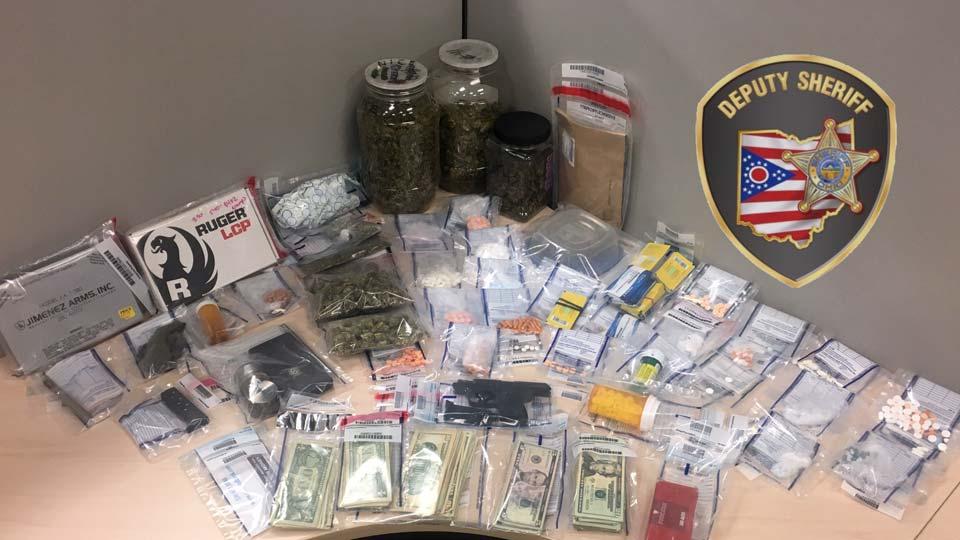 Drug bust, Niles, Ohio