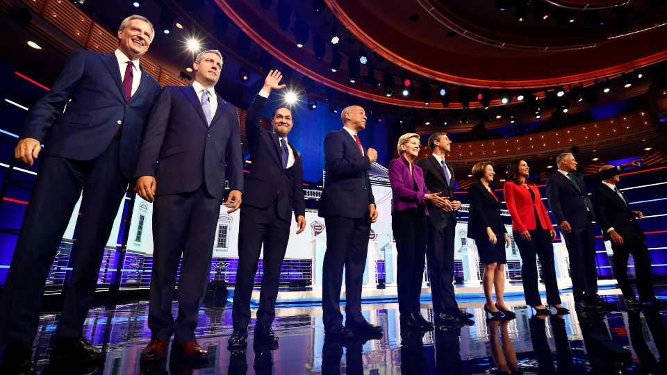 Democrats in the 2020 election debate