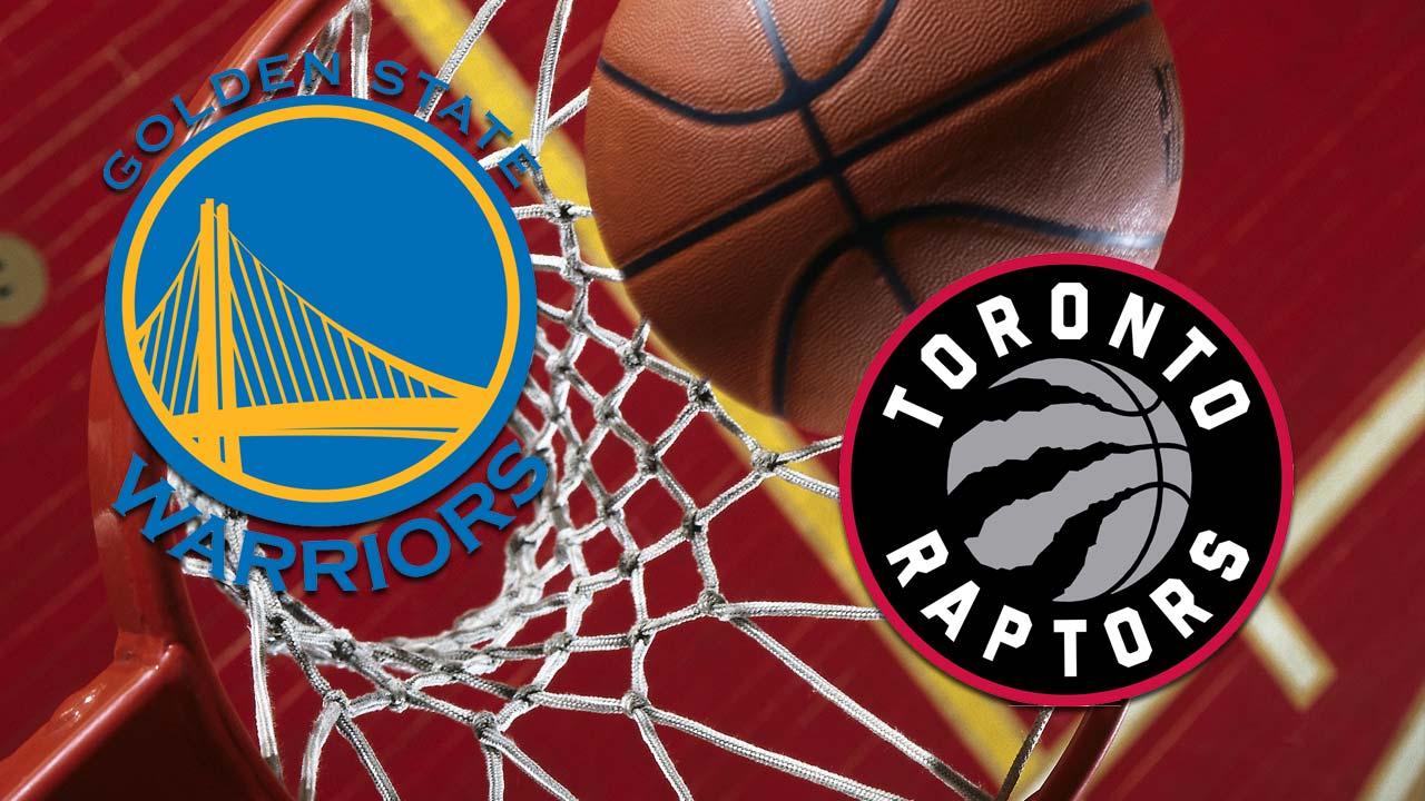 Golden State Warriors Toronto Raptor basketball