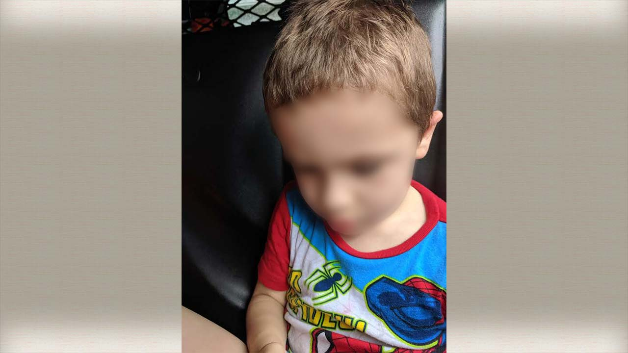 2-year-old child found wandering in Newton Falls, Ohio - Blurred