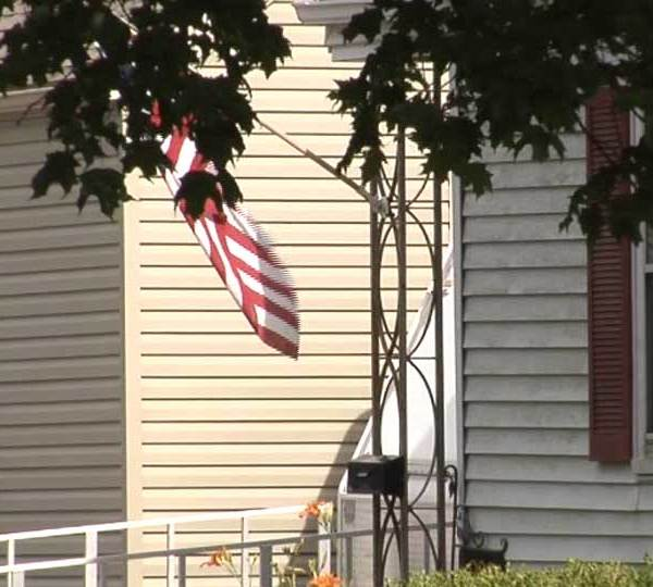 A 12-year-old girl was shot and killed while on the front porch of her family's home in Newark, Ohio.
