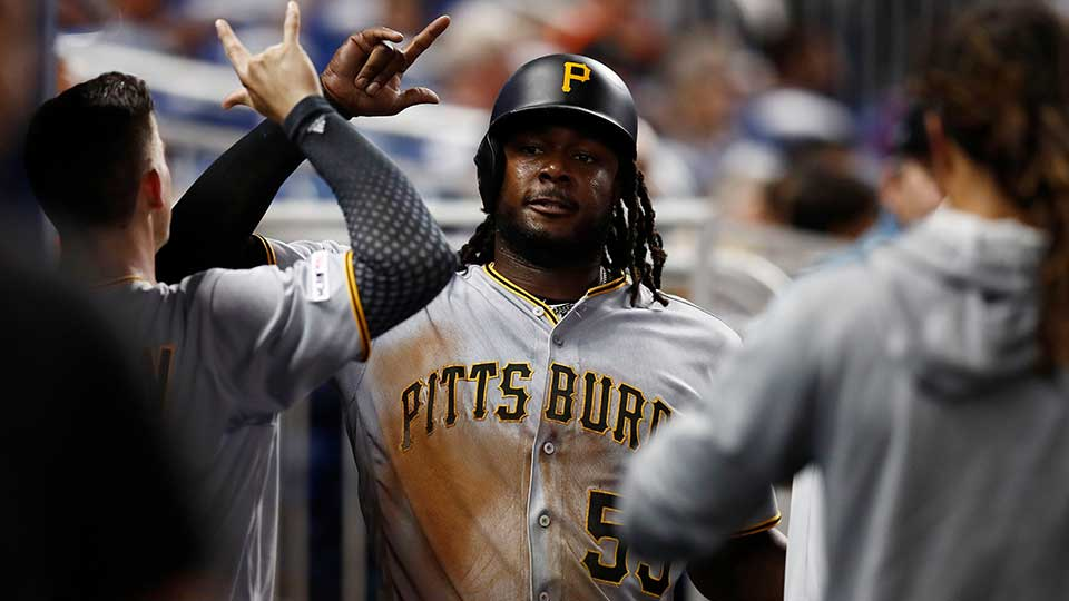 Pittsburgh Pirates' Josh Bell