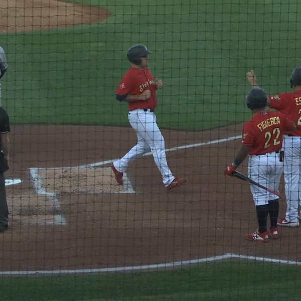 Spikes' six-run first inning too much for Scrappers to overcome