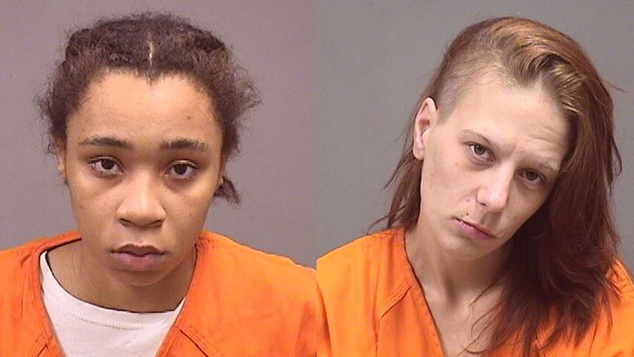 Taylor Phifer and Abby Pierson arrested for solicitation in Austintown