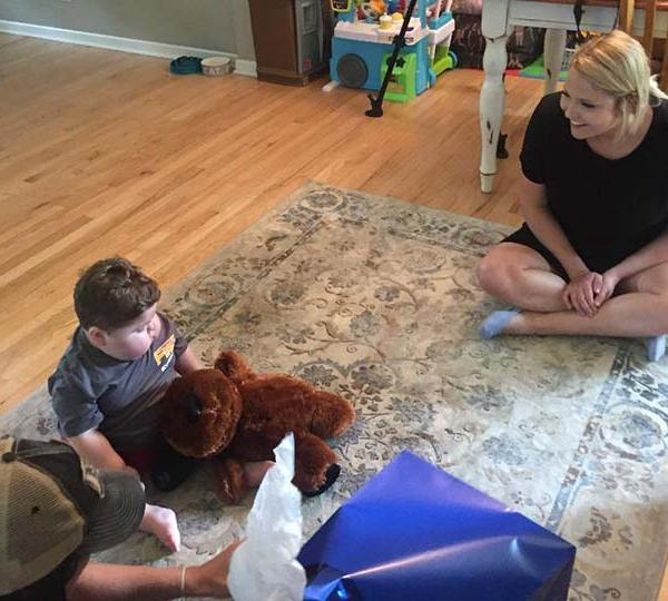 Canfield boy fighting brain cancer