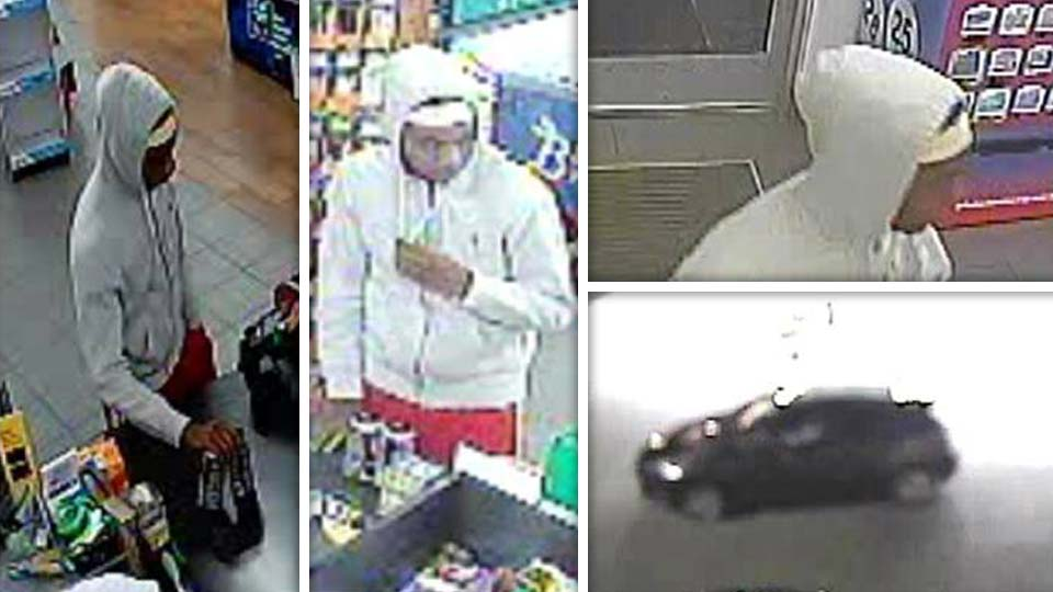 Boardman robbery suspect photos.