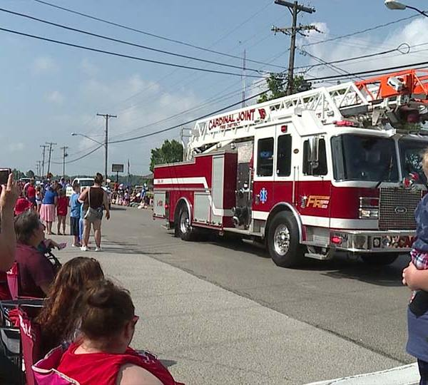 Canfield's Fourth of July parade.