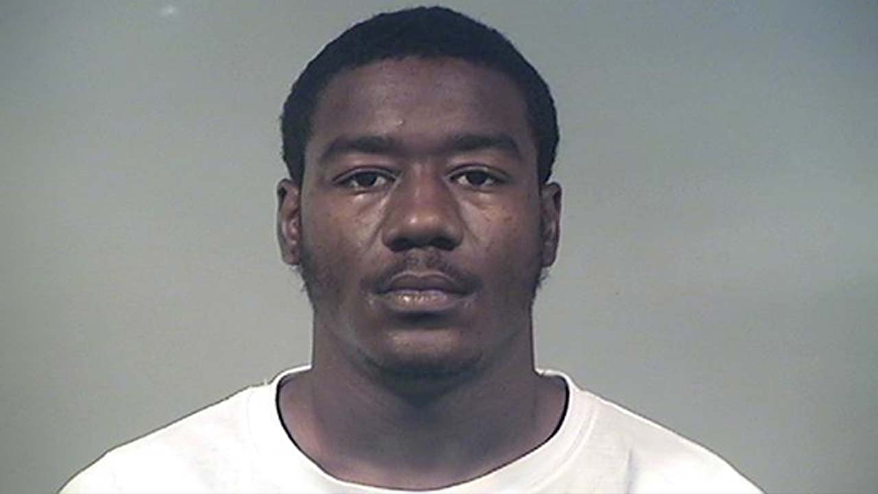 Cleveland Jackson, charged with aggravated menacing in Liberty, Ohio.