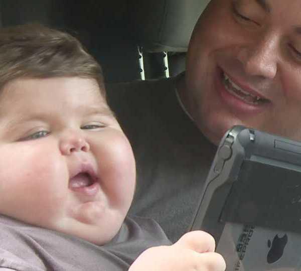 Canfield firefighters raise money for Devin Kirtley, little boy battling terminal brain cancer