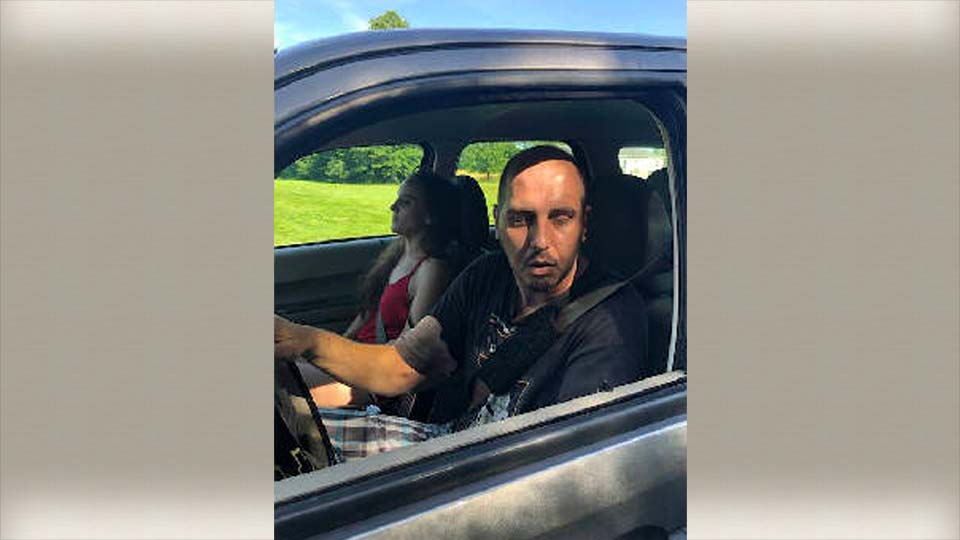 Two adults driving under the influence of drugs in Cortland, Ohio.