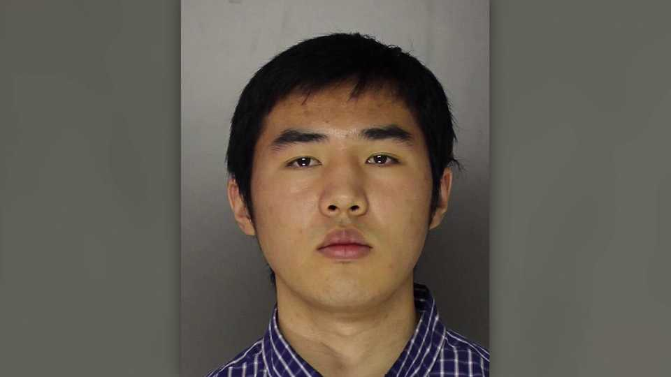 Frank Wang, charged with plotting shooting at Pennsylvania college