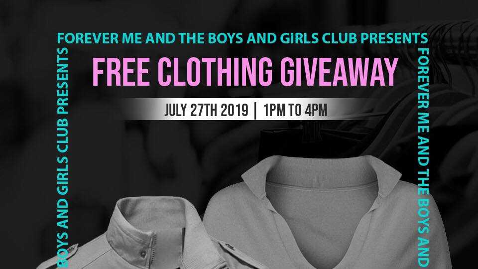 clothing giveaway, Youngstown, Ohio
