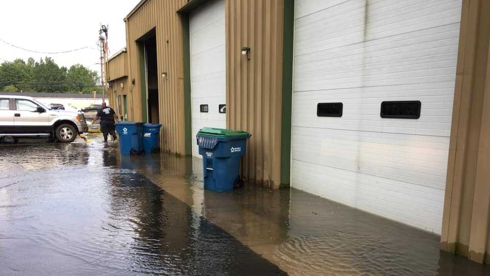 Liberty Fire Department closes after flooding