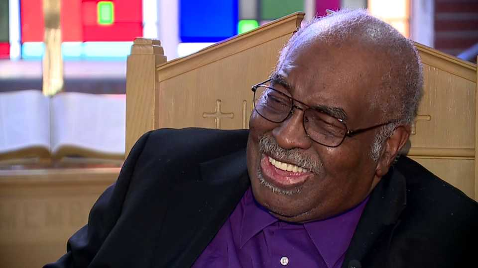 Rev. Morris Lee, pastor of Youngstown's Third Baptist Church