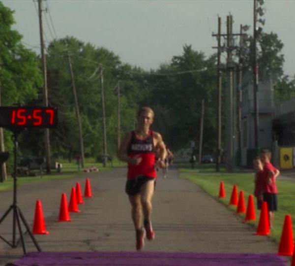 Stars and Stripes 5k Run in Howland.