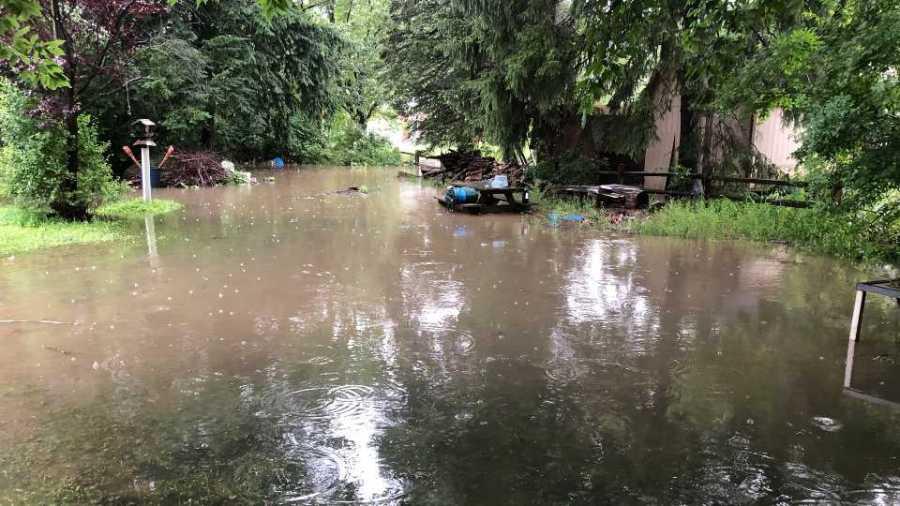 Truesdale Road Flooding, Boardman