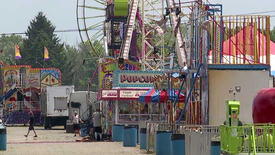 Trumbull County Fair prep