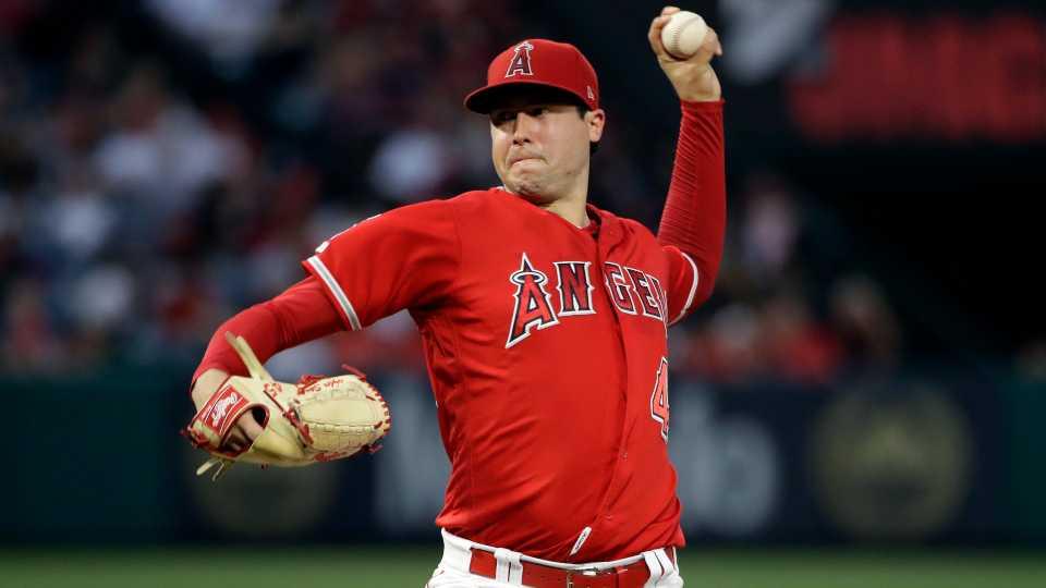 Tyler Skaggs, Los Angeles Angels