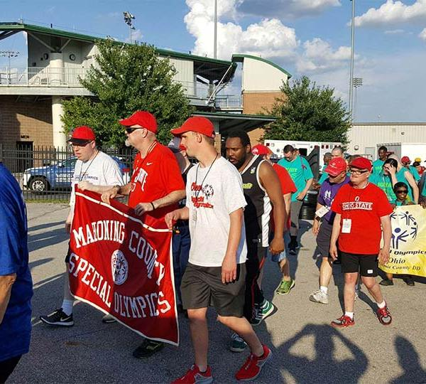 Special Olympians from the Valley competing in Columbus.