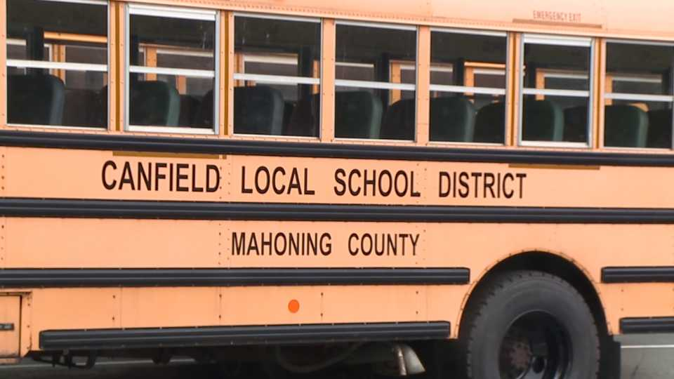 Canfield Local School District bus
