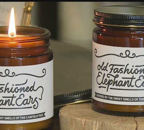 Old Fashioned Elephant Ears candles for Canfield Fair