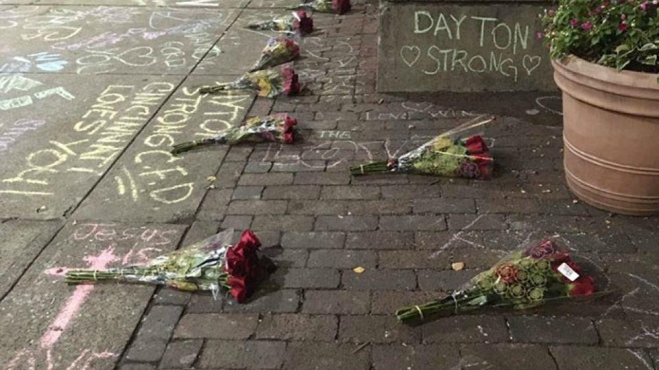 Oregon District vigil in Dayton, Ohio