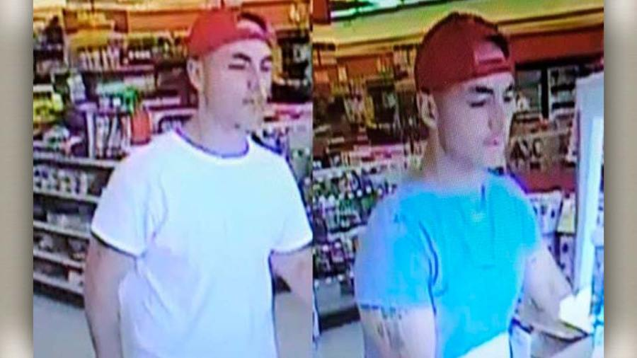 Theft suspect in Boardman, Ohio.