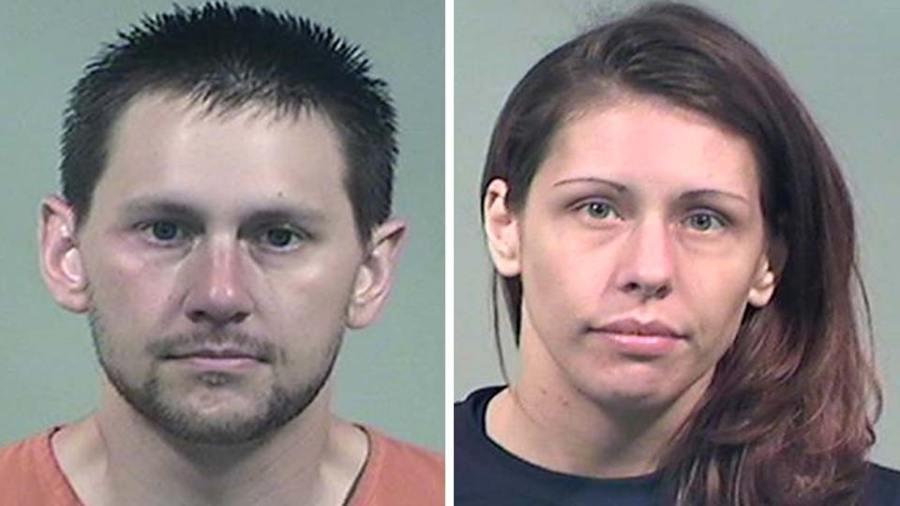 Brandon Binion and Amanda Rederick, charged in crash in Niles, Ohio.