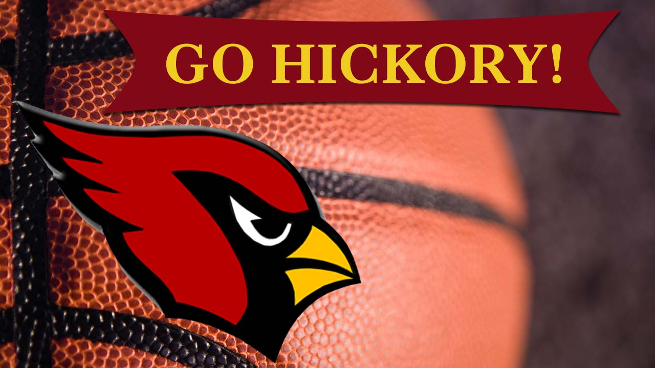 Canfield high school basketball Hickory Hoosiers