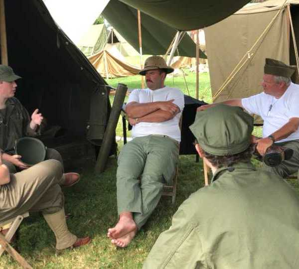D-Day Conneaut war reenactment