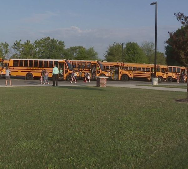 School starts early at Lakeview Local Schools in Cortland, Ohio