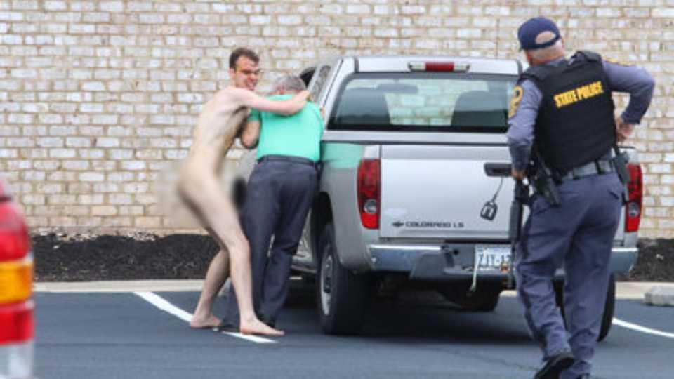 Got White Privilege? Video Captures Naked Triple-Homicide