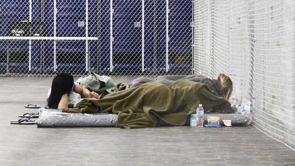 Migrants detained along Mexico border